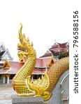 thailand architecture gold... | Shutterstock . vector #796588156