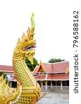 thailand architecture gold... | Shutterstock . vector #796588162