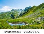 the mountains. summer....   Shutterstock . vector #796599472