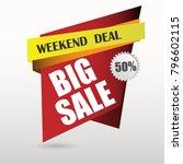 big sale banner.super sale...   Shutterstock .eps vector #796602115