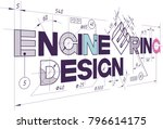 illustration consisting of a... | Shutterstock .eps vector #796614175