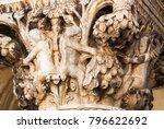 close up of a column capital | Shutterstock . vector #796622692