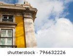 lisbon building traditional... | Shutterstock . vector #796632226