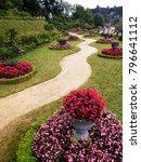 a beautiful landscaped garden... | Shutterstock . vector #796641112