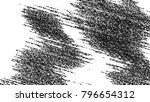 black and white grunge pattern... | Shutterstock . vector #796654312