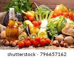 fruit and vegetable | Shutterstock . vector #796657162