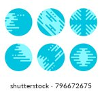 vector business abstract circle ... | Shutterstock .eps vector #796672675