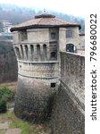 castle of rovereto  detail of... | Shutterstock . vector #796680022