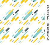 hipster fashoion memphis... | Shutterstock .eps vector #796685785