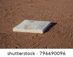 Small photo of Baseball base first second third home run steal dirt sports spring training grounder hotbox