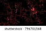 3d background. technology...   Shutterstock . vector #796701568