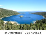 emerald bay state park of lake... | Shutterstock . vector #796714615