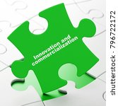 science concept  innovation and ... | Shutterstock . vector #796722172