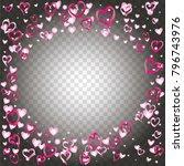 round frame or border... | Shutterstock .eps vector #796743976
