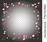 square frame or border... | Shutterstock .eps vector #796743982