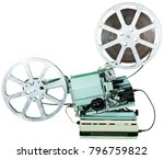 a movie projector is an opto... | Shutterstock . vector #796759822