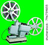 a movie projector is an opto... | Shutterstock . vector #796759855
