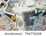 money of different countries... | Shutterstock . vector #796776328