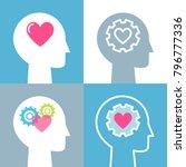emotional intelligence  feeling ...   Shutterstock .eps vector #796777336