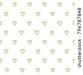 cute pattern with small... | Shutterstock .eps vector #796787848