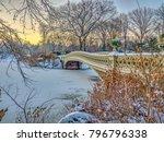 Bow Bridge After Snow Storm