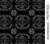 modern geometric pattern. for... | Shutterstock .eps vector #796797322