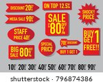 sale promotion  collection ... | Shutterstock .eps vector #796874386