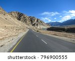 landscape view along the way on ...   Shutterstock . vector #796900555