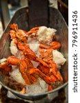 crab  seafood buffet  buffet... | Shutterstock . vector #796911436