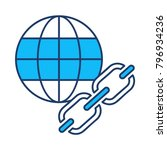 url browser link | Shutterstock .eps vector #796934236