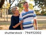 portrait of american senior... | Shutterstock . vector #796952002