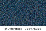 abstract background with small... | Shutterstock .eps vector #796976398