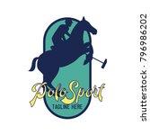 polo sport   polo club logo... | Shutterstock .eps vector #796986202