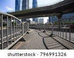 empty road surface floor street ... | Shutterstock . vector #796991326