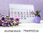 february 10 mark on the... | Shutterstock . vector #796993516