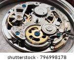 vintage mechanical watch... | Shutterstock . vector #796998178