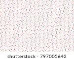 digital pattern that works as... | Shutterstock .eps vector #797005642