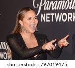 los angeles   jan 18   chrissy... | Shutterstock . vector #797019475