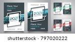 city background business book... | Shutterstock .eps vector #797020222