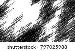 black and white grunge pattern... | Shutterstock . vector #797025988