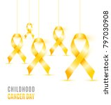 childhood cancer day | Shutterstock .eps vector #797030908