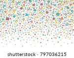 vector colorful background made ... | Shutterstock .eps vector #797036215