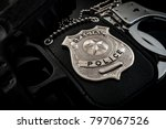 protect and serve  crime... | Shutterstock . vector #797067526