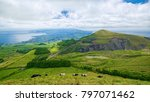 typical hilly terrain on sao... | Shutterstock . vector #797071462