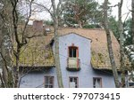 old german houses in svetlogorsk | Shutterstock . vector #797073415