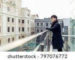 a portrait of a young asian man ... | Shutterstock . vector #797076772