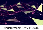 abstract mesh and net...   Shutterstock . vector #797110936