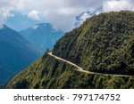 the death road is one of the...   Shutterstock . vector #797174752