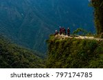the death road is one of the... | Shutterstock . vector #797174785