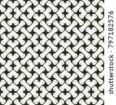 abstract interlacing grid... | Shutterstock .eps vector #797182576